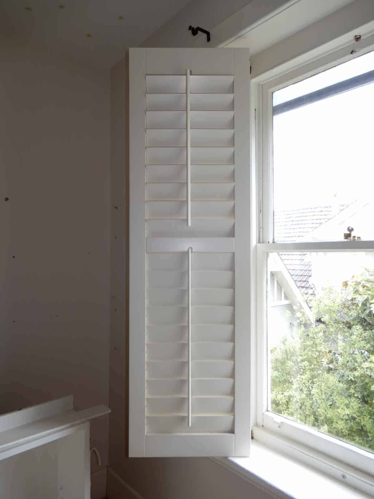 Plantation Shutters Bi Fold Timber Shutters 1000w X 1670h Removed 3b
