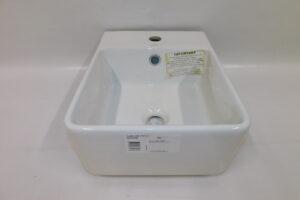 Bathroom Basin – Caroma Square Powder Room Basin, new never used, pc1