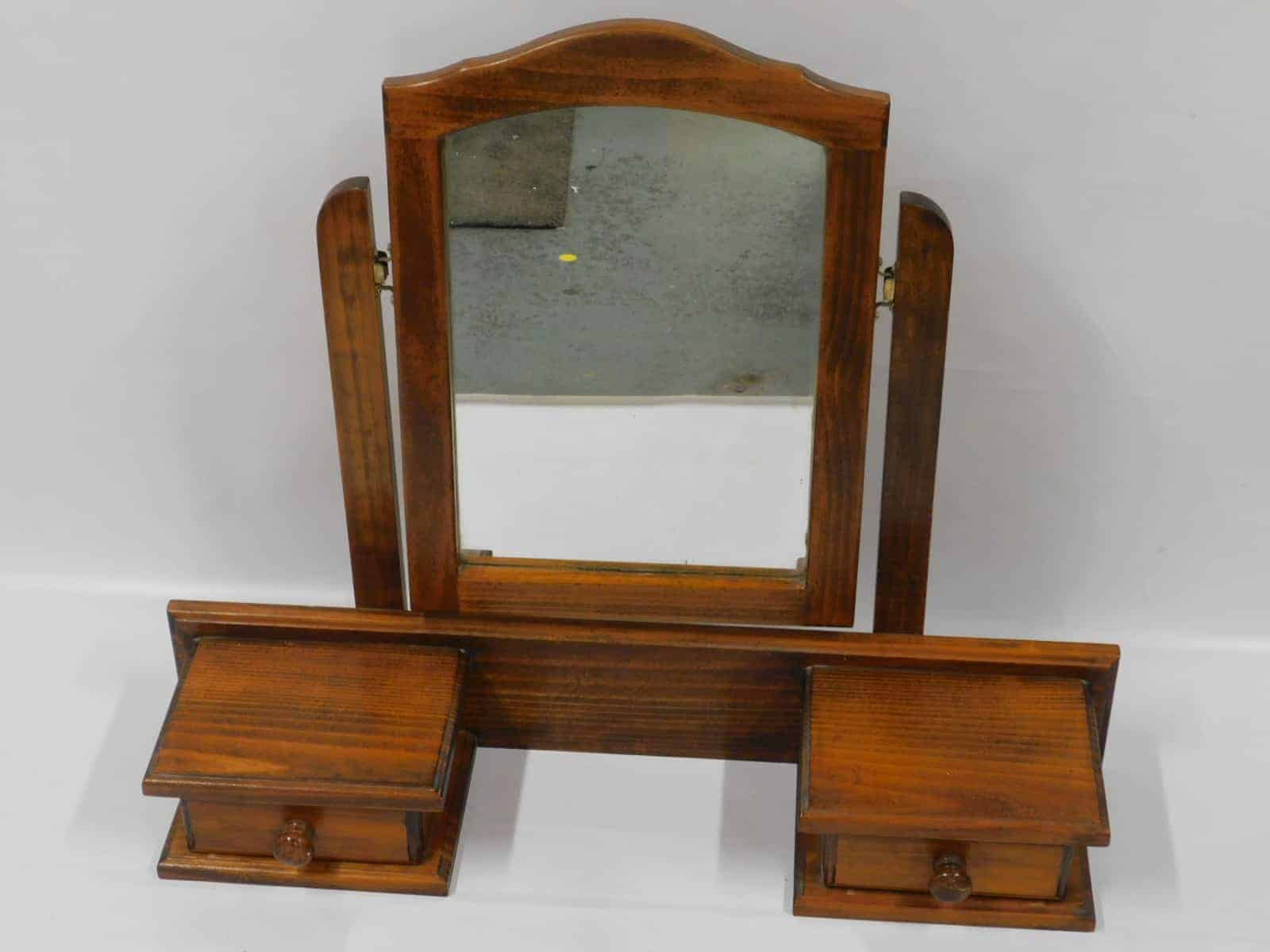 Mirror Timber Above Dresser Mirror Vintage Mirror 9v Sell4you