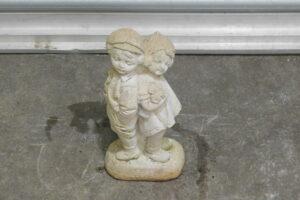CONCRETE STATUE – Young Boy & Girl, Two Children, Garden Feature, 3v