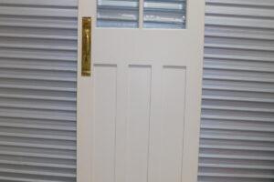 Door – Internal Swing Door, Colonial Style with 4 Glass Panes, 780mm wide, 7t