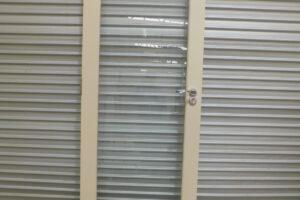 Glass Door, Timber External Glass Door, 800mm wide, 4n