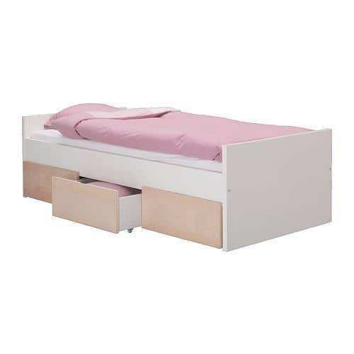 Ikea Sultan Lade Single Bed Instructions